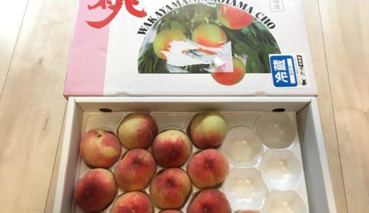 <ふるさと納税>和歌山県産白鳳約4kg 和歌山県高野町